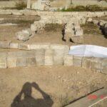 מספור ואחסון אבן שפורקה ולפני בנייתה מחדש. ממילא , ירושלים