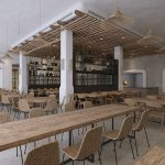 מלון קדמא - חדר האוכל