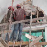 שחזור בניית אבן בחנויות שדרות אלרוב, ירושלים